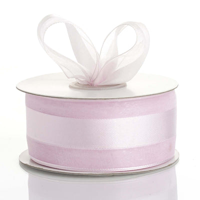 "25 Yards 1.5"" DIY Lavender Satin Center Ribbon"