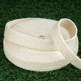 "Woven Jute Ribbon | 1 Pack | Ivory | 1"" x 10 Yards 