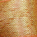 "25 Yards 4"" DIY Orange Sparkling Mesh Ribbons"
