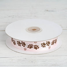 "25 Yards 7/8"" Pink 