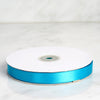 "50 Yards 5/8"" Turquoise Satin Ribbon"