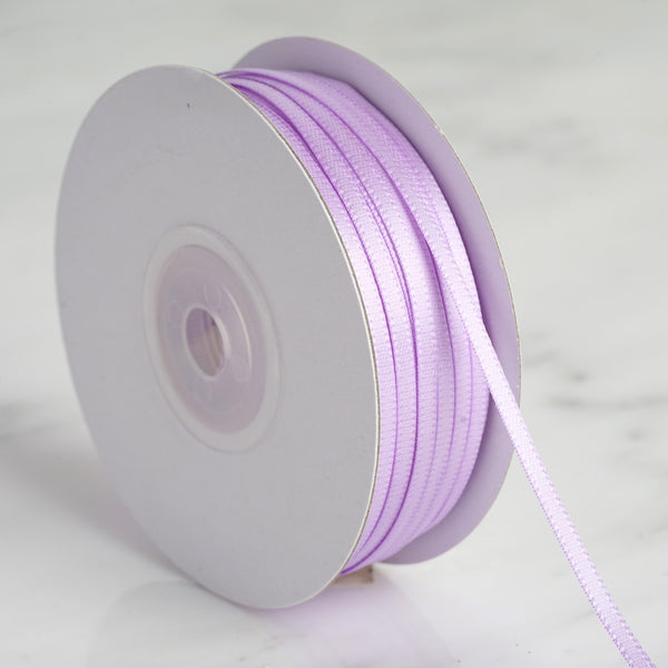 "100 Yards 1/8"" Lavender Satin Ribbon"