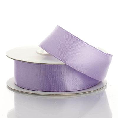 "10 Yards 7/8"" Lavender Wired Edge Satin Ribbon"