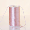 200 Yards 2mm Pink Satin Rattail Cord Ribbon