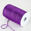 200 Yards 2mm Purple Satin Rattail Cord Ribbon
