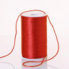 200 Yards 2mm Red Satin Rattail Cord Ribbon