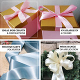 "50 yards 2"" Pink Wholesale Satin Ribbon Roll - Clearance SALE"