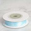 "100 Yards 1/16"" Blue Single Face Satin Ribbon"
