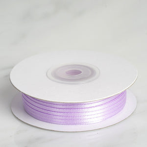 100 Yards | 1/16 Inch | Lavender Single Face Satin Ribbon | TableclothsFactory
