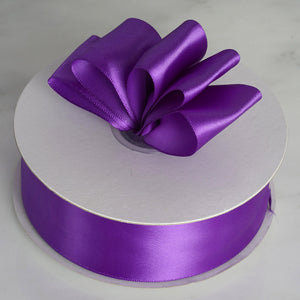 "50 Yards 1.5"" DIY Purple Satin Ribbon"