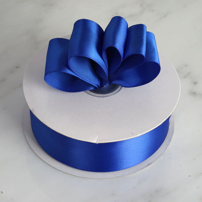 "50 Yards 1.5"" DIY Royal Blue Satin Ribbon"
