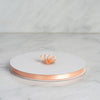 "100 Yards 3/8"" Peach Decorative Satin Ribbon"