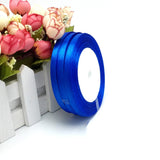 "100 Yards 3/8"" Royal Blue Decorative Satin Ribbon"