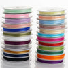 25 Yards | 3/8 Inch Organza Ribbon with Satin Edge | TableclothsFactory