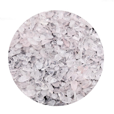 Pack of 2 Lbs | Rose Quartz | Decorative Crushed Gravel Pebble Stone Vase Fillers