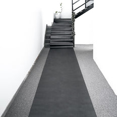 3FT x 50FT Black Glitter Wedding Aisle Runner, Non-Woven Carpet Runners