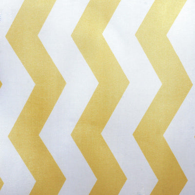 Jazzed Up Chevron Table Runners - White / Champagne