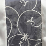 Table Runner Embroider - Ivory