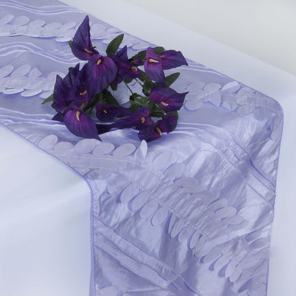 "14""x108"" Lavender Premium Taffeta Table Runner"