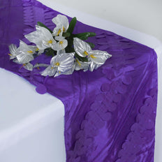 Paradise Forest Taffeta Table Runners - Purple