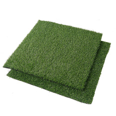 2 ft. x 2 ft. | Set of 2 Artificial Synthetic Grass Carpet Rug Mat