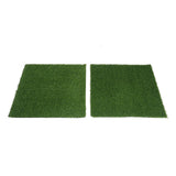 2 Pack 8 Sq.ft  Ecofriendly Artificial Synthetic Grass Mat Carpet Rug