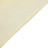 12x108 Ivory Linen Table Runner, Slubby Textured Wrinkle Resistant Table Runner