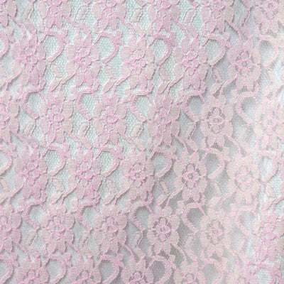 Floral Lace Runner - Pink