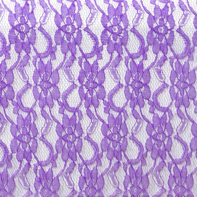 Floral Lace Runner - Purple