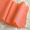 CORAL Polyester Runner - Table Top Wedding Catering Party Decorations - 12x108""