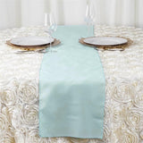 Dusty Sage Polyester Table Runner