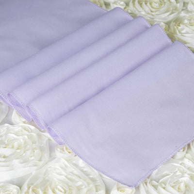 LAVENDER Polyester Runner - Table Top Wedding Catering Party Decorations - 12x108""