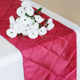 Table Runner Pintuck - Fushia