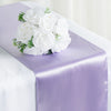 "12""x108"" Lavender Satin Table Runner"