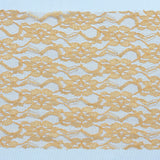 5 PCS | 6 inch x 108 inch Gold Lace Chair Sash #whtbkgd