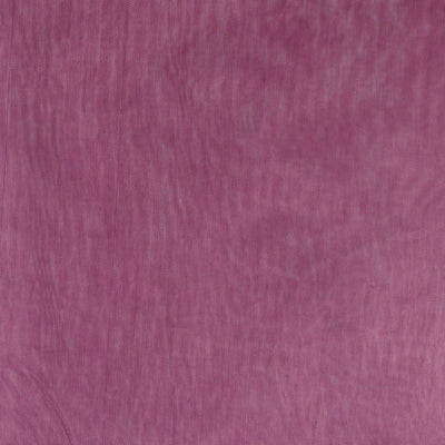 5pc x Chair Sash Organza - Eggplant