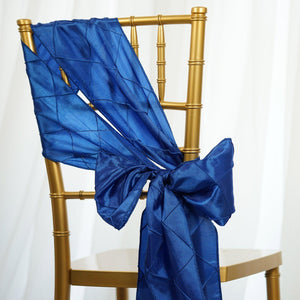 5pc x Chair Sash Pintuck - Royal