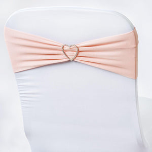 5pc x Chair Sash Spandex - Blush