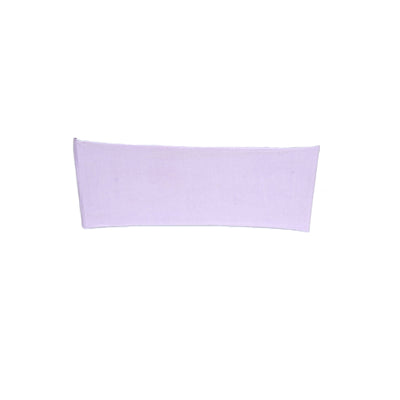 "5 pack | 5""x12"" Lavender Spandex Stretch Chair Sash"