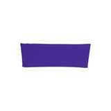 "5 pack | 5""x12"" Purple Spandex Stretch Chair Sash"