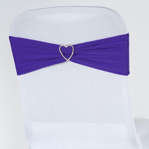 5pc x Chair Sash Spandex - Purple