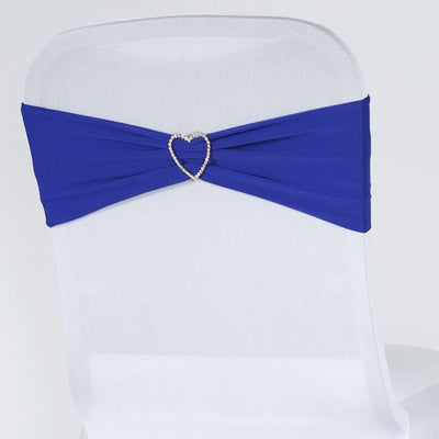 5pc x Chair Sash Spandex - Royal Blue
