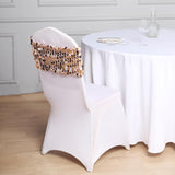 160 GSM White Stretch Spandex Banquet Chair Cover With Foot Pockets