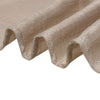 5 Pack | Taupe Linen Chair Sashes, Slubby Textured Wrinkle Resistant Sashes
