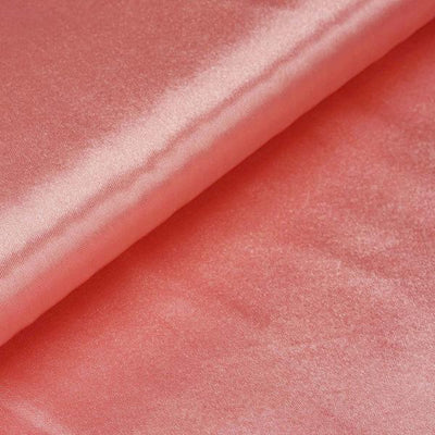"10 Yards x 54"" Rose Quartz Satin Fabric Bolt"