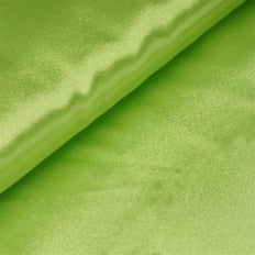 "10 Yards x 54"" Apple Green Satin Fabric Bolt"