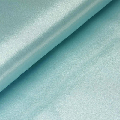 "10 Yards x 54"" Blue Satin Fabric Bolt"
