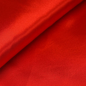 "10 Yards x 54"" Red Satin Fabric Bolt"
