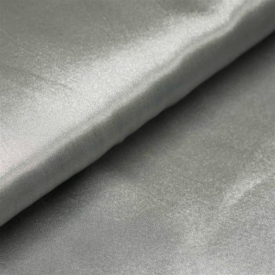"10 Yards x 54"" Silver Satin Fabric Bolt"
