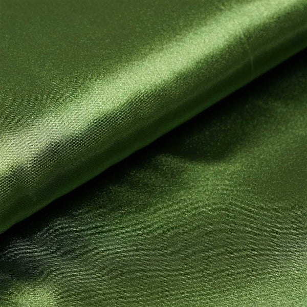 "10 Yards x 54"" Moss Green Satin Fabric Bolt"